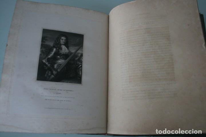 Arte: LODGE´S PORTRAITS – 20 GRABADOS Y BIOGRAFIA ILUSTRES PERSONAJES GRAN BRETANA 1835 - VOLUMEN VIII - Foto 7 - 187509235
