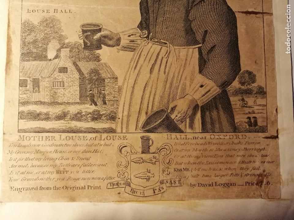 Arte: Mother Louse, of Louse Hall, near Oxford. Alewife, posadera, cervecera . C. Johnson, London, 1793 - Foto 2 - 188440506