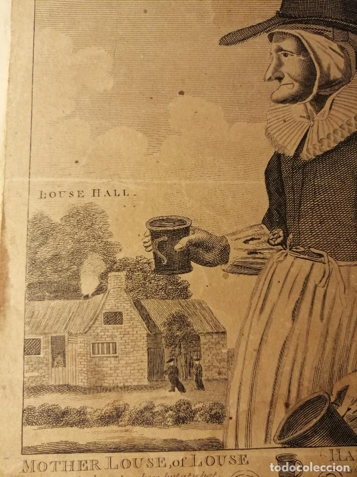 Arte: Mother Louse, of Louse Hall, near Oxford. Alewife, posadera, cervecera . C. Johnson, London, 1793 - Foto 5 - 188440506