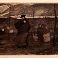 Arte: RICARDO BAROJA - AGUAFUERTE - NOVIOS. Lote 188494615