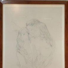 Arte: DESNUDO FEMENINO. GRABADO SOBRE PAPEL. PEDRO PRUNA. SIGLO XX. . Lote 188536487