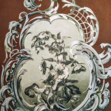 Arte: PRECIOSO GRABADO MODERNISTA CIRCA 1900 ANTIQUE UNIQUE. Lote 188676640