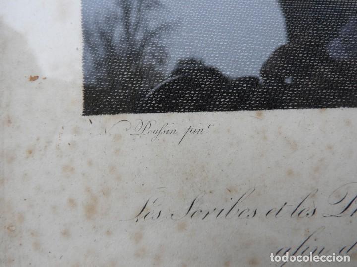 Arte: GRABADO CON FANTASTICO MARCO DE MADERA DORADA DE LA EPOCA S. XIX - Foto 9 - 188716942