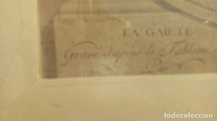 Arte: GRABADO DE N. DE LAUNAY. LA ALEGRÍA CONYUGAL. AGUAFUERTE ENRIQUECIDO A LA ACUARELA. FINALES S. XVIII - Foto 6 - 188740365