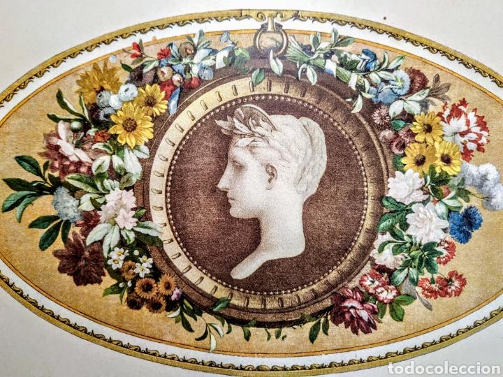 Arte: Precioso Grabado Modernista circa 1900 ANTIQUE UNIQUE - Foto 2 - 188746310