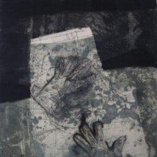 Arte: ANTONI CLAVE GRABADO CARBORUNDUN FIRMADO Y NUMERADO A MANO POR EL ARTISTA. Lote 189115401