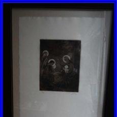 Arte: GRABADO DE JOSE BEULAS (1921-2017) BELEN AGUATINTA. Lote 229986845