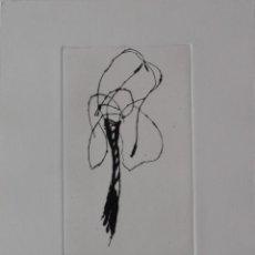 Arte: HERNANDEZ PIJUAN JOAN .GRABADO AGUAFUERTE FIRMADO Y NUMERADO A MANO POR EL ARTISTA. Lote 189181368