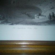Arte: THE AMPHITHEATRE, VERONA,ITALY (AUTOR W.H.BARTLLET). Lote 189220343