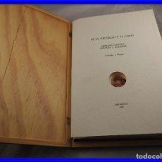 Arte: CARPETA GRABADOS Y POEMAS DE LA NECESIDAD Y EL EXILIO 1991 MARIANO CASTILLO. Lote 189483415