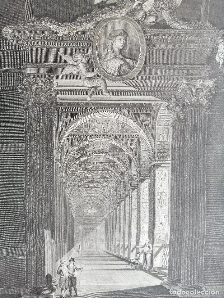 Arte: Logge del Vaticano, portada del libro editado por Francesco Rainaldi Ca 1802 . Giovanni Balzar - Foto 3 - 189613117