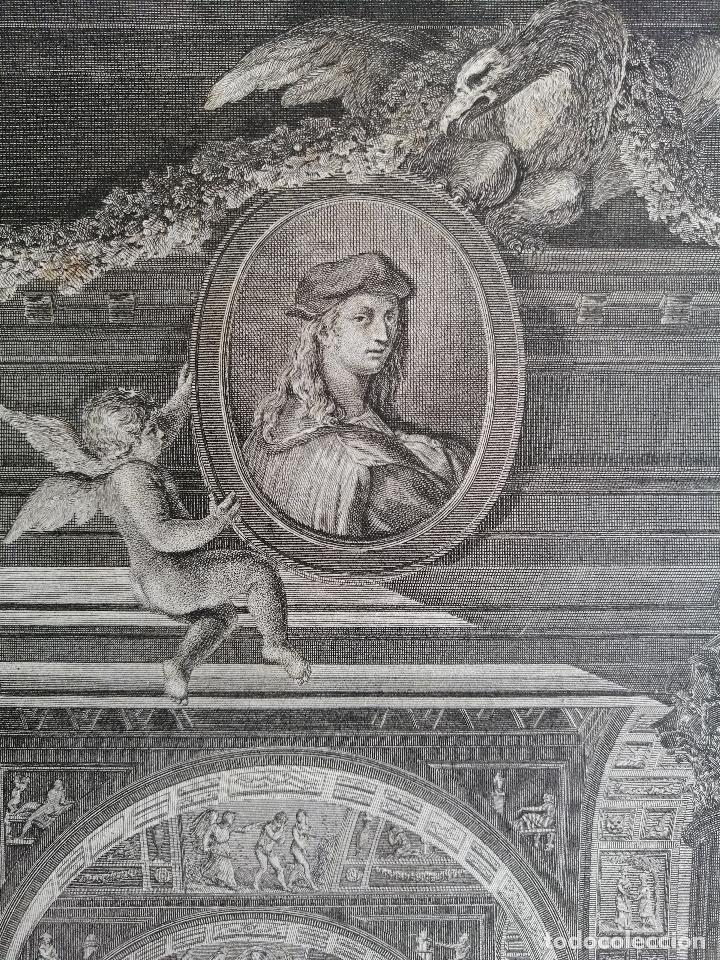 Arte: Logge del Vaticano, portada del libro editado por Francesco Rainaldi Ca 1802 . Giovanni Balzar - Foto 4 - 189613117