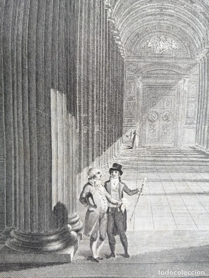 Arte: Logge del Vaticano, portada del libro editado por Francesco Rainaldi Ca 1802 . Giovanni Balzar - Foto 6 - 189613117