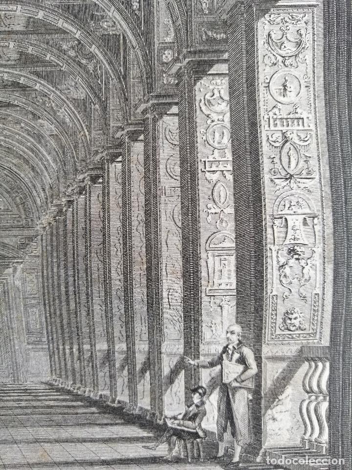 Arte: Logge del Vaticano, portada del libro editado por Francesco Rainaldi Ca 1802 . Giovanni Balzar - Foto 7 - 189613117