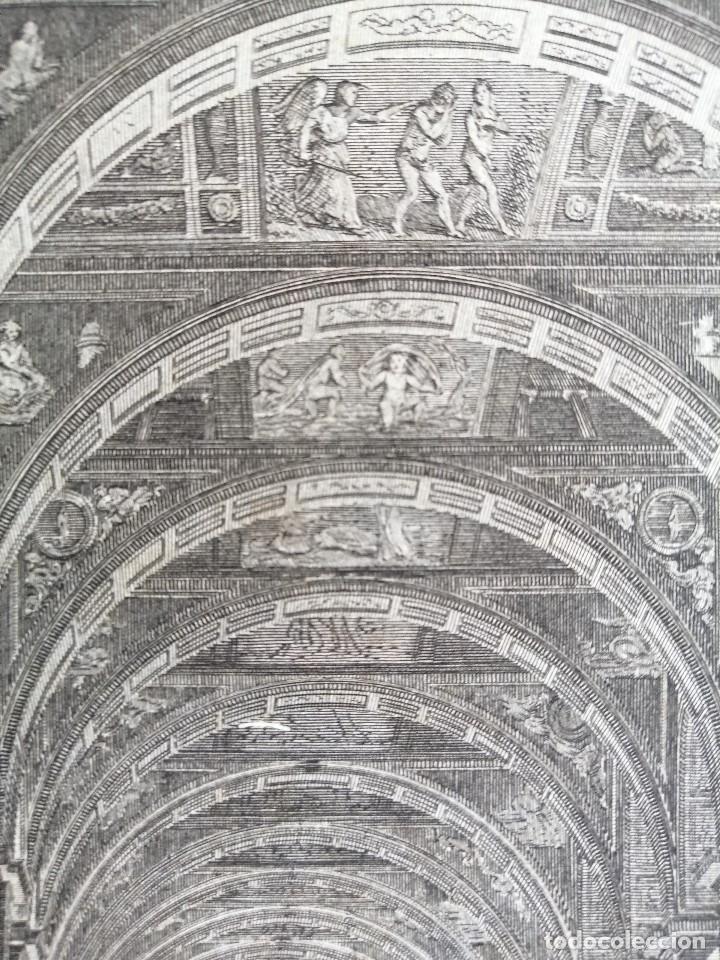 Arte: Logge del Vaticano, portada del libro editado por Francesco Rainaldi Ca 1802 . Giovanni Balzar - Foto 8 - 189613117