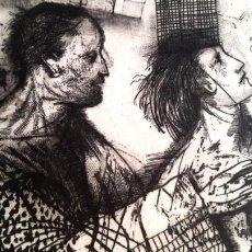 Arte: GRABADO MIGUEL CONDÉ - FIRMADO Y NUMERADO. Lote 189823197