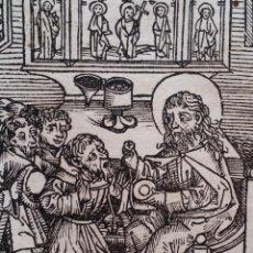 Art: INCUNABLE: LAS CRÓNICAS DE NUREMBERG, CXCVII, 4 XILOGRAFIAS, ED. LATINA, 1493 . Lote 189827678