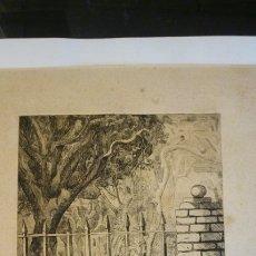 Arte: GRABADO. NUMERADO Y FIRMADO ( 24,5X19,5 CM). Lote 189935110