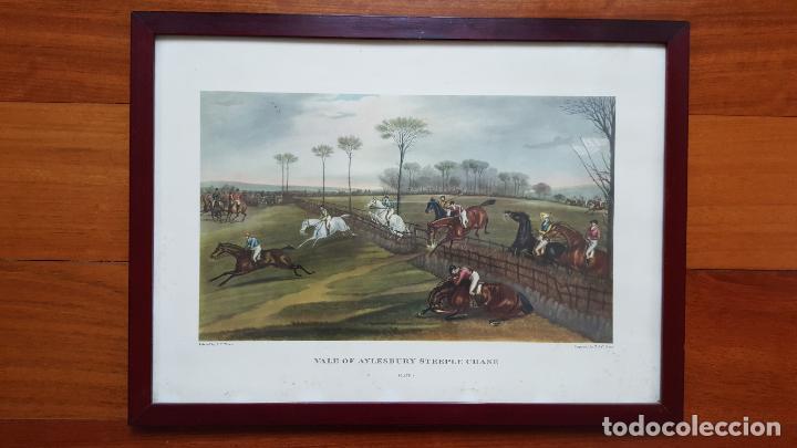 Arte: LOTE DE 4 GRABADOS INGLESES - Foto 3 - 190061917