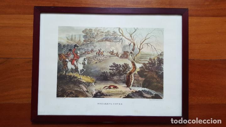 Arte: LOTE DE 4 GRABADOS INGLESES - Foto 4 - 190061917