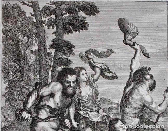 Arte: EXCEPCIONAL GRABADO -TITIANUS PRINX- FRANCESCO PETRUCCI - COSIMUS MOGALLI- PISADA 50 X 37 CM. - Foto 3 - 190129038