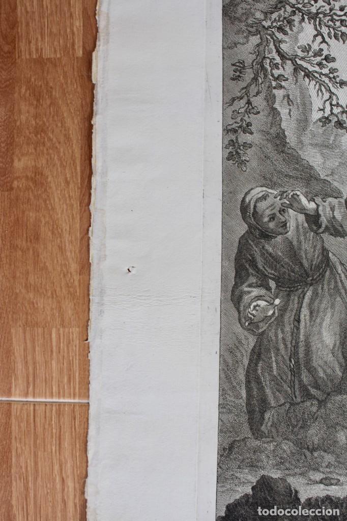 Arte: ELEGANTE GRABADO RELIGIOSO-SAN FRANCISCO DE ASIS- P.P RUBENS PINXIT-FRAN PETRUCCI DEL-ID PICCHIANTI - Foto 5 - 190143953