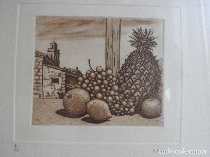 Arte: GRABADO DE MARIANO CASTILLO AGUAFUERTE Y AGUATINTA - Foto 6 - 190145427