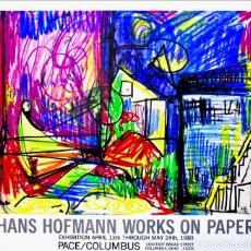Arte: HANS HOFMANN WORKS ON PAPER PACE/COLUMBUS.. Lote 190572855