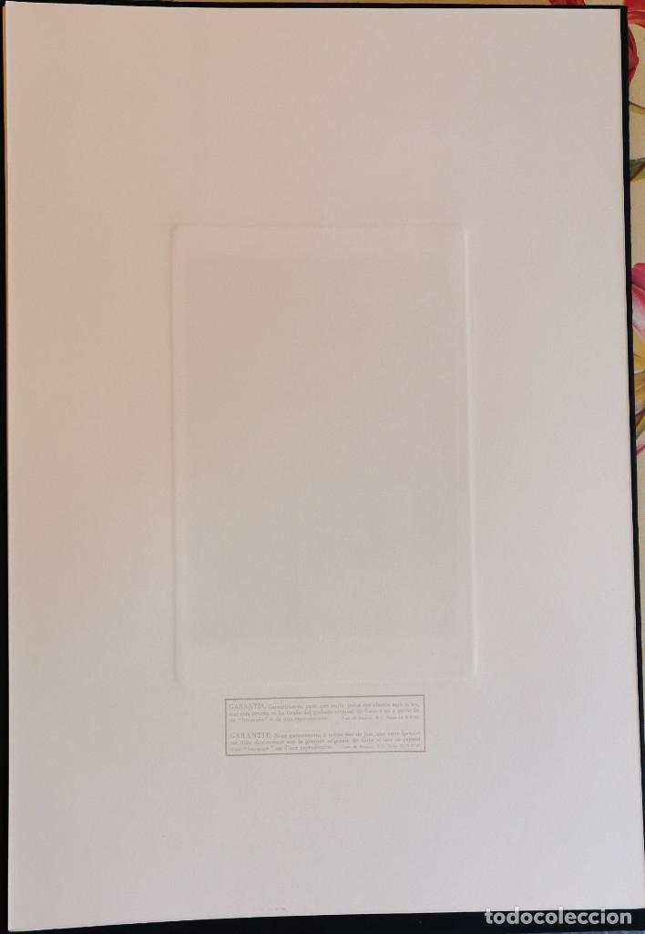 Arte: Goya,Los Caprichos n.42 Tu que no puedes,aguafuerte original directo de plancha con certificado - Foto 6 - 212763663