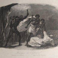 Arte: MARTYRE DE SYLVEIRA. MARTIRIO DI SILVERA. GRABADO AL ACERO. 1850 H.. Lote 190708350