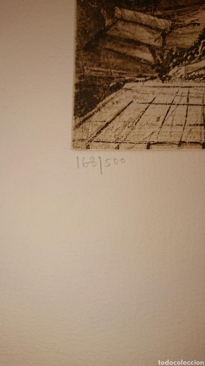 Arte: GRABADO, MONIR ISLAM, DATADO Y FIRMADO A LÁPIZ - Foto 4 - 190783800
