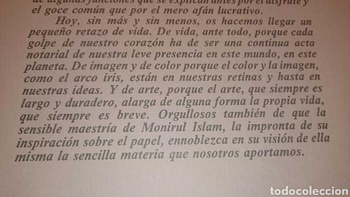 Arte: GRABADO, MONIR ISLAM, DATADO Y FIRMADO A LÁPIZ - Foto 7 - 190783800
