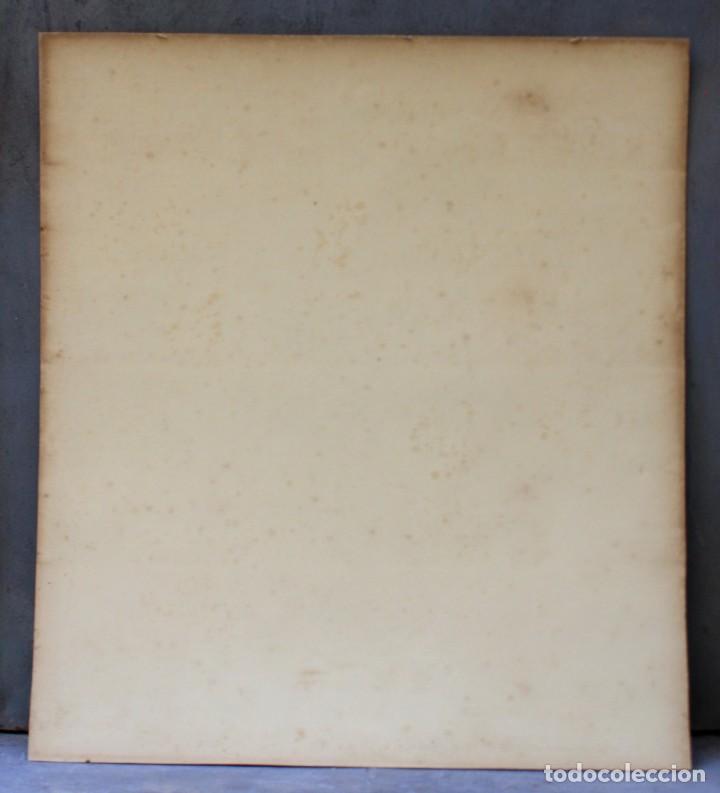 Arte: Alphonse Osbert (1857 - 1939), grabado, musas en la orilla, 1920's, simbolismo, firmado. 70x62cm - Foto 5 - 190815675