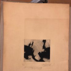 Arte: J. M. ELÉXPURU. GRABADO TÉCNICA MIXTA (BURIL Y MEZZOTINTA) DE 1978. CHEMA ELÉXPURU.. Lote 190865573