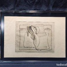 Arte: GRABADO GALERÍA KANDINSKY P E FIRMA ILEGIBLE ABSTRACTO PASPARTÚ MARCO METAL MADRID 59 X 43 CM. Lote 190909228