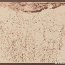 Arte: PAISAJES - AGUSTÍN REDONDELA (MADRID, 1922-2015). Lote 190932206