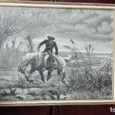 Arte: GRABADOS SIGLO 19 DE LIBRO. Lote 190935437