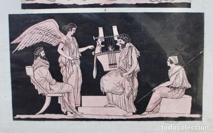 Arte: ELEGANTE GRABADO DE D.K.BONATTI ( ACTIVO 1720-1780)- PISADA: 19 X 31,5 CM. - Foto 3 - 190935922