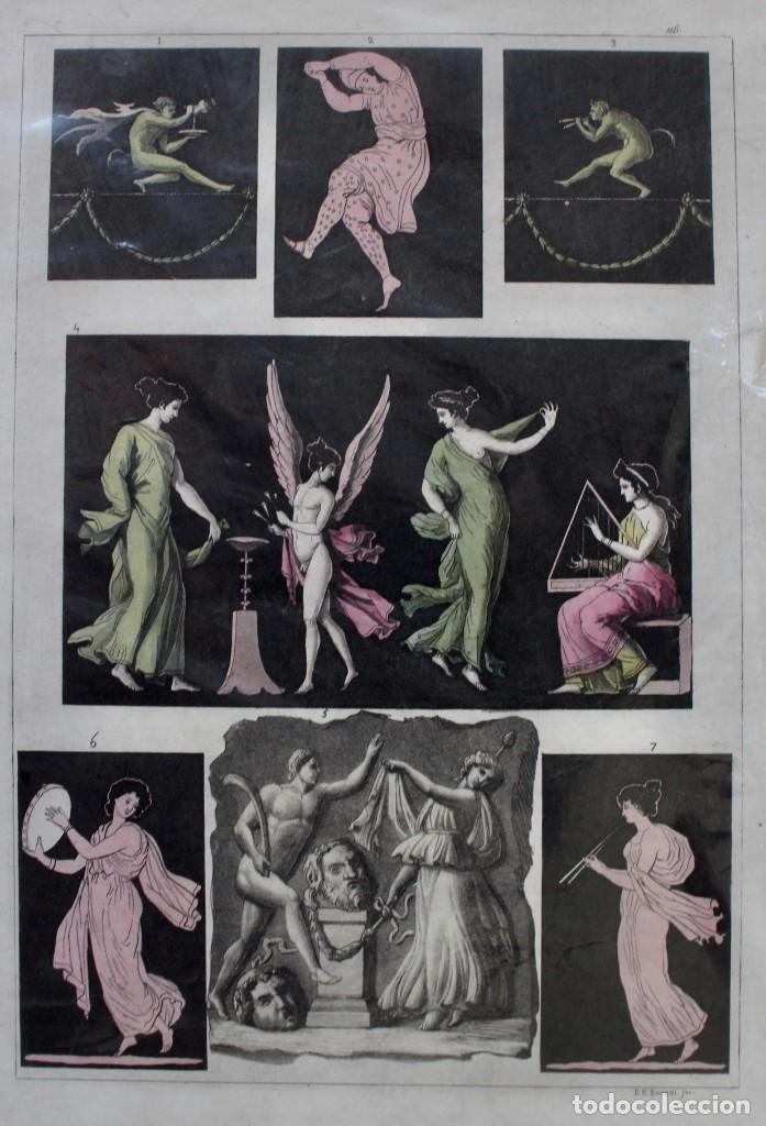 Arte: ELEGANTE GRABADO DE D.K.BONATTI ( ACTIVO 1720-1780)- PISADA: 20,5 X 30,5 CM. - Foto 2 - 190936747