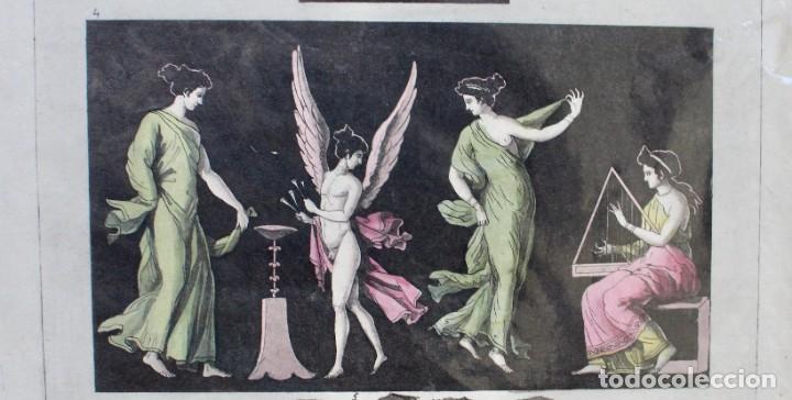 Arte: ELEGANTE GRABADO DE D.K.BONATTI ( ACTIVO 1720-1780)- PISADA: 20,5 X 30,5 CM. - Foto 4 - 190936747