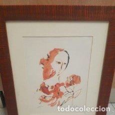 Arte: LITOGRAFÍA FIRMADA Y NUMERADA. Lote 191324410