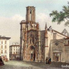 Arte: LAURENT DEROY (1797-1886) - AIX. ST. SAUVEUR, CATHÉDRALE. Lote 191607321