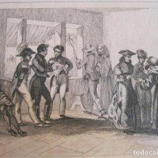Arte: REUNIÓN POLÍTICA EN PERNAMBUCO ( NORDESTE DE BRASIL), HACIA 1850. LALAISSE/MONNIN. Lote 191652661