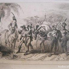 Arte: CONVOY ESCOLTADO DE DIAMANTES, (BRASIL), HACIA 1850.LALAISSE / CHAILLOT. Lote 191652881