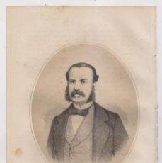 Arte: LITOGRAFÍA. AÑO 1869. ANTONIO AGUILAR Y CORREA, MARQUÉS DE LA VEGA DE ARMIJO (MADRID, 1824-1908). Lote 191744721