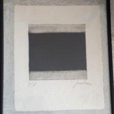 Arte: 2 GRABADOS. FIRMA ILEGIBLE. Lote 192233757