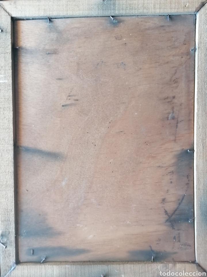 Arte: Grabado Sobre Madera J Masso 47x38cm - Foto 7 - 192555003