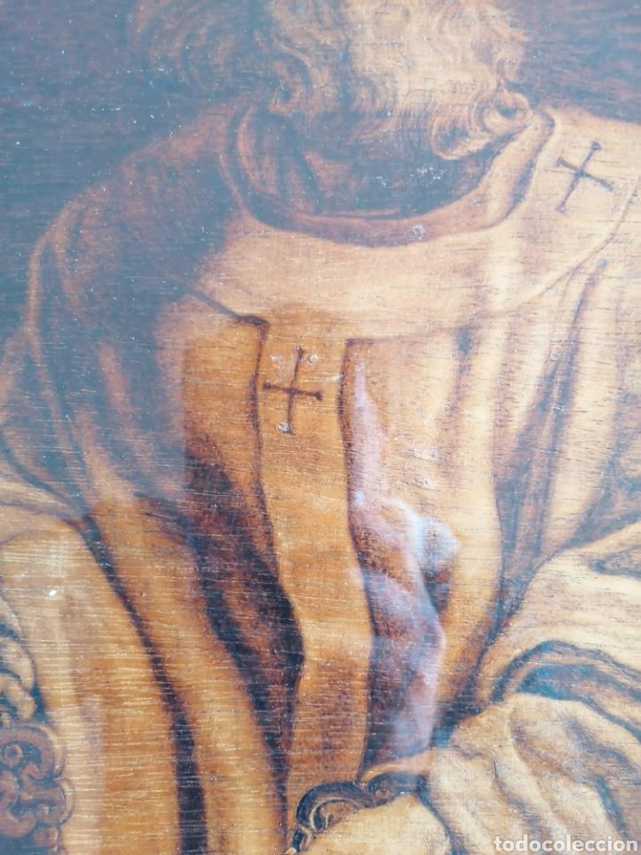 Arte: Grabado Sobre Madera J Masso 47x38cm - Foto 5 - 192555003