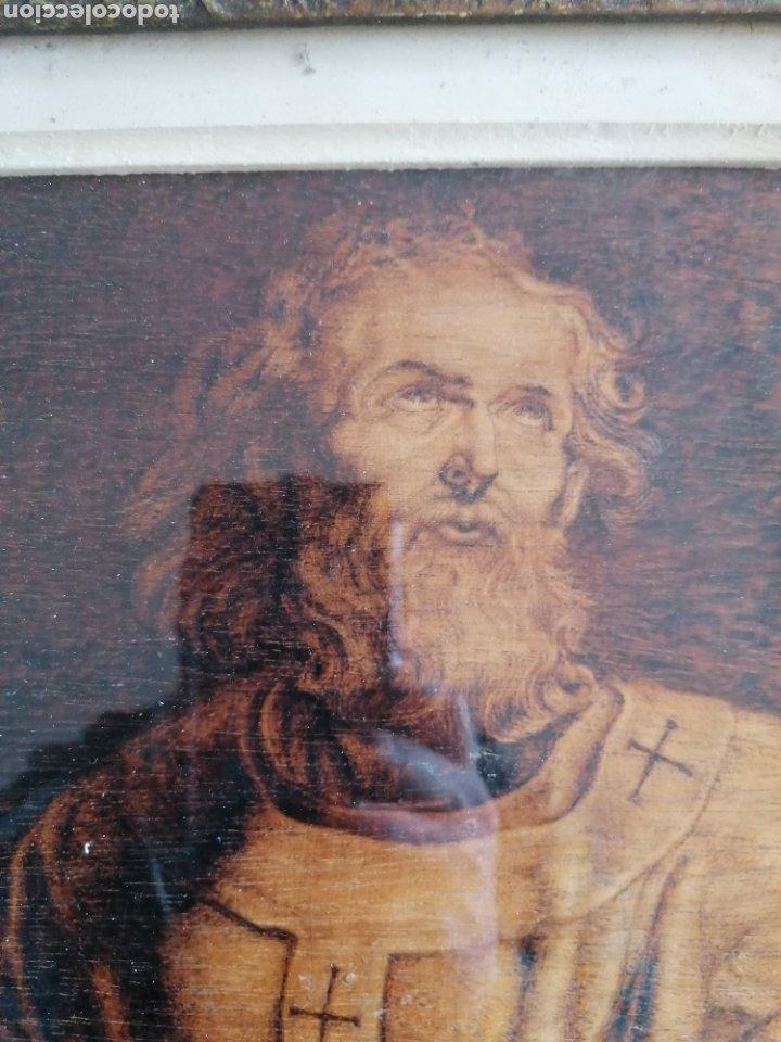 Arte: Grabado Sobre Madera J Masso 47x38cm - Foto 8 - 192555003