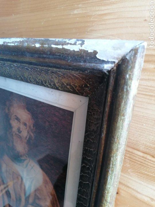 Arte: Grabado Sobre Madera J Masso 47x38cm - Foto 13 - 192555003
